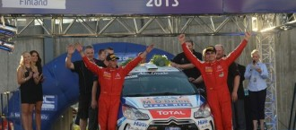 Cronin wins WRC3 at Rally Finland