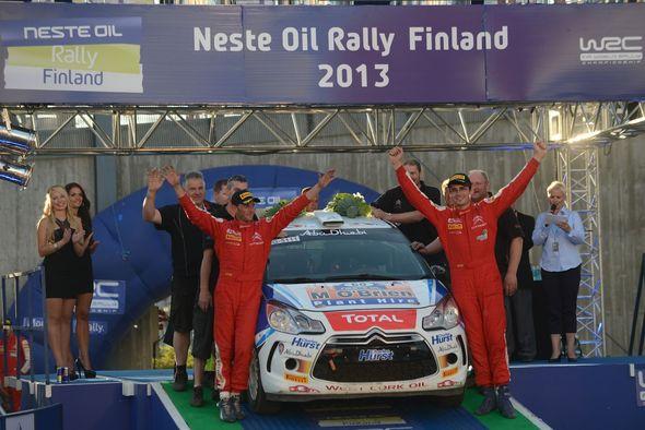 Cronin wins WRC3 at Rally Finland