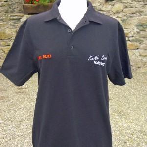 Black KCR Polo Shirt - €25
