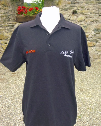 Black KCR Polo Shirt - €25