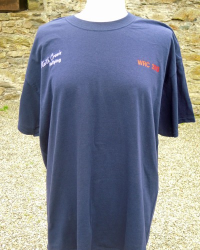 Navy KCR T-Shirt €17.50